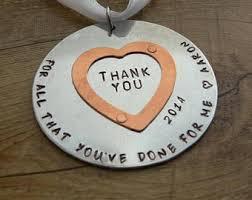thank you ornaments etsy