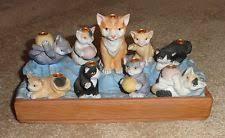 cat menorah menorah by inc cat with kittens porcelain menorah ii