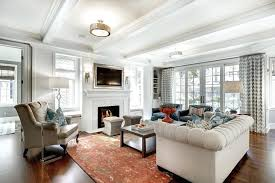Living Room Ceiling Beams White Ceiling Beams Inspired By Wood Beam Plank Ceiling Design