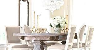 aldridge antique grey extendable dining table chandelier glass globes
