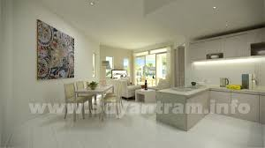 yantram 3d interior rendering kitchen design studio india rachana