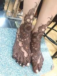 140 bridal karwa chauth mehandi design for legs