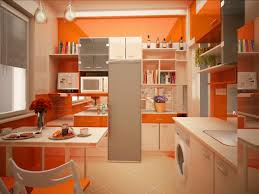 cuisine couleur orange univers decoration cuisine couleur orange