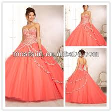 quinceanera dresses coral q095 sweetheart corset back coral pink prom dresses coral