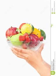 bowl of fruits hand holding bowl of fruits stock photo image 11224890
