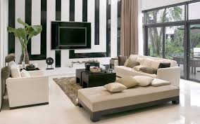 awesome white brown wood glass luxury design beautiful living room