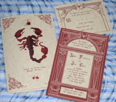 penny dreadful gothic blood red victorian halloween parchment