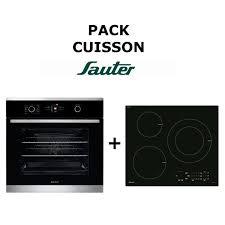 piano de cuisine sauter pack cuisson sauter four multifonction table de cuisson