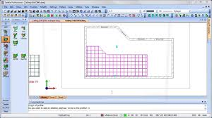 creating a suspended ceiling grid layout using a dwa in caddie aec