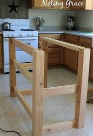 Make A Kitchen Island How To Make A Pallet Kitchen Island For Less Than 50 Hometalk