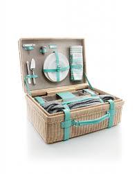 tiffany blue outdoor wicker tiffany central park picnic basket