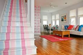 Living Room With Stairs Design 7 Painted Staircase Ideas Diy