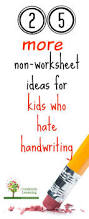 25 more fun handwriting practice ideas no worksheets