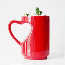 heart shaped mug creativo dulce forma de corazón tazas taza 380cc taza caneca