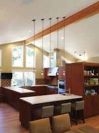 Vaulted Ceiling Open Floor Plans Ranch House Remodel Kitchen Contemporary With Vaulted Ceiling
