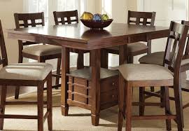 square tables for sale buy steve silver bolton 7 piece 48 inch square counter height set on