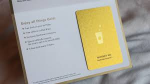 starbuck gold card starbucks new loyalty program bloggaz with attitude