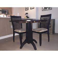 Espresso Dining Room Furniture Ikea Round Espresso Dining Table Aptdeco