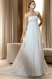 affordable bridal gowns ruched chiffon empire simple affordable wedding gowns fashion
