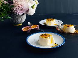 panna cotta with passion fruit sauce recipes kitchen stories