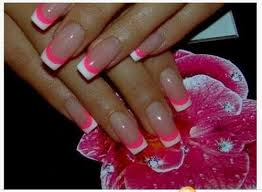 cute pink and white nail designs how you can do it at home