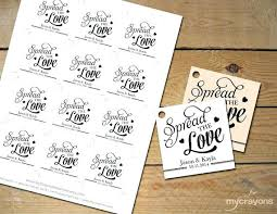 free diy wedding favor tags template thank you jam favors untag