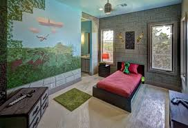 chambre minecraft transformer sa chambre grâce aux produits dérivés minecraft cuboak