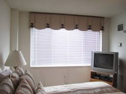 captivating window curtain with gauzy white detail and blinds