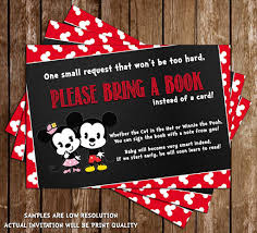 100 mickey and minnie mouse baby shower invitations free