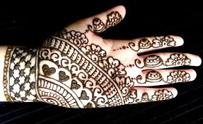 simple full hand eid henna easy and quick mehendi design youtube