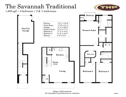 12 X 14 Bedroom The Village At Northgate The Savannah Traditional Floor Plan Details