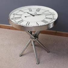 Clock Coffee Table Chrome Coffee Tables Ebay