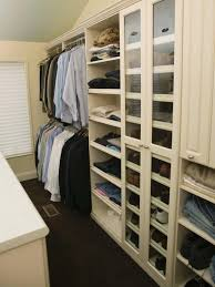 How To Arrange A Small Bedroom by 10 Steps To A Decluttered Closet Hgtv