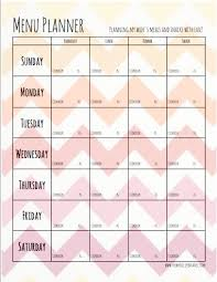 printable meal planner with calorie counter diet plan template free meal planner free meal planner menu