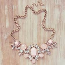 light pink necklace images Best 25 pink statement necklaces ideas cheap jpg