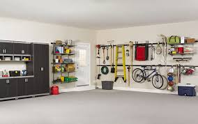 Furniture Rubbermaid Garage Wall Storage How To Use The Rubbermaid Fasttrack Garage System