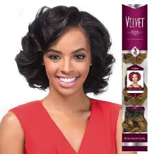 cute hairstyles with remy bump it hair outre remy human hair weave velvet romance curl 3pcs hair
