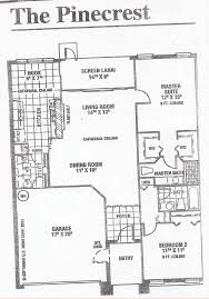 heritage pines pinecrest floor plan