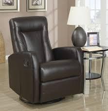 Swivel Rocker Recliner Plush Swivel Rocker Recliner Brown Dfw Furnituremart