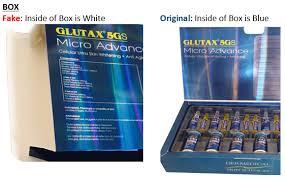 Glutax Inj product alert