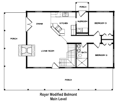 Timber Home Floor Plans by Royer Modified Belmont Stonemill Log U0026 Timber Homes