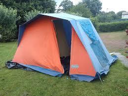 toile de tente 4 places 2 chambres ma trigano 1960
