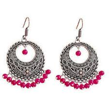 pink earrings oxidized pink earrings at rs 3000 kilogram oxidized earrings