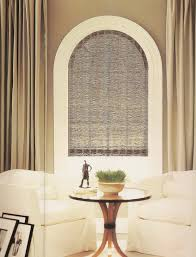 window treatment half circle with molding ideas for the house