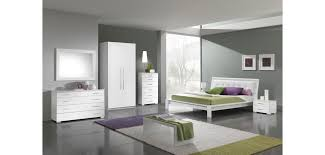 Italian Contemporary Bedroom Sets - geko italian modern white platform bedroom set