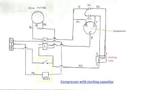 ac compressor wiring diagram i was able to get the basically