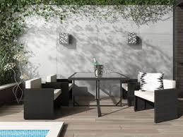 5 Piece Patio Dining Sets - wade logan dunlap 5 piece outdoor dining set with cushion