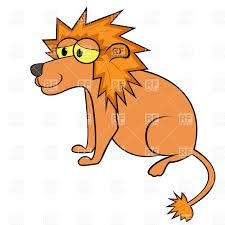 simple sitting cartoon lion vector image 36357 u2013 rfclipart