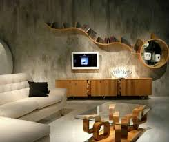 Wood Wall Living Room by Interior Shelves For Living Room Photo Contemporary Shelves For