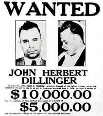 wanted poster for dillinger st valentine u0027s day massacre